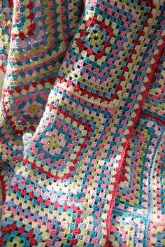 Ravelry: moogsmum's CK colours Granny blanket