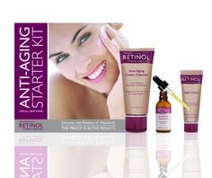 Retinol AntiAging Starter Kit 77 Ounce ** You can get more details by clicking on the image.