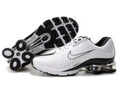 online store d8b1e ee45f cheapshoeshub com Cheap Nike free run shoes outlet, discount nike free  shoes Women Nike Shox White-black 104264 024