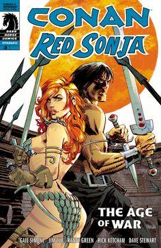 Conan/Red Sonja #3  Art by: Dan Panosian