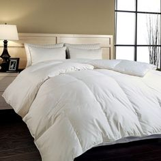 @Overstock - Hotel Grand Naples 700 Thread Count Hungarian White Goose Down Comforter - Upgrade your bed with this luxurious down comforter. This distinctive comforter is hypo-allergenic and features combed cotton fabric. Filled with Hungarian goose down, this item is sure to keep you extra warm during cold winter nights.  http://www.overstock.com/Bedding-Bath/Hotel-Grand-Naples-700-Thread-Count-Hungarian-White-Goose-Down-Comforter/53013/product.html?CID=214117 $179.99