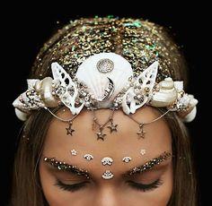 Dazzling Crowns Adorned with Seashells Transform Women Into Modern-Day Mermaids - My Modern Met