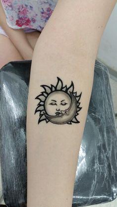 Sun tattoo, günes dövmesi, moon tattoo, ay dovmesi, temporary tattoo, henna tattoo, kına dövmesi,geçici dövme, bodrum tattoo, alibaba tattoo