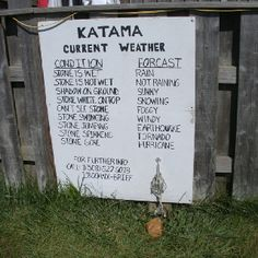 Weather forecaster at Katima airfield MV CC MA