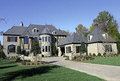 House Plan 96903 | European Luxury Plan with 10467 Sq. Ft., 6 Bedrooms, 6 Bathrooms, 4 Car Garage at family home plans
