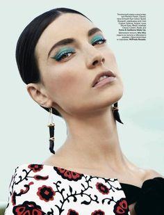 Jacquelyn Jablonski - Vogue Russia - Beauty (June 2012)
