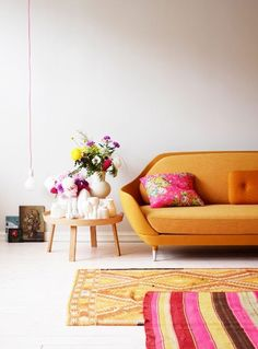 Think layering rugs