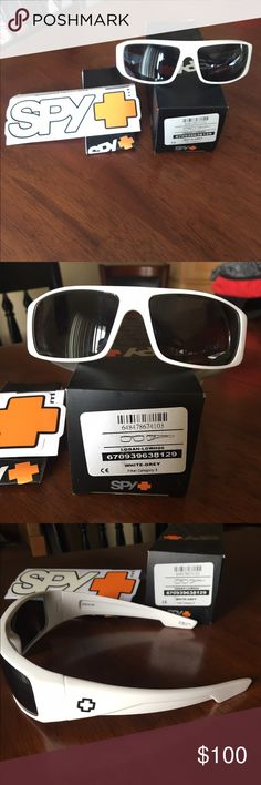 850bf3dad3a Never worn.. white SPY Sunglasses These are men