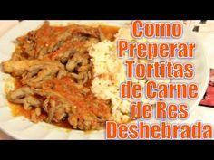 Tortitas de Carne de Res Deshebrada | Casayfamiliatv ** Casayfamiliatv.com