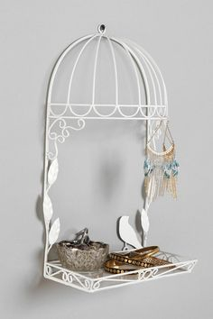 Birdcage Jewelry Stand Online Only New Colors Available