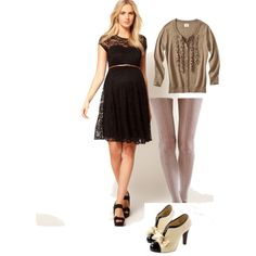 """Maternity outfit"" by anne-reedy-schlenbaker on Polyvore"