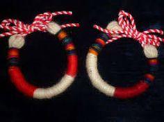 Резултат с изображение за martenici Baba Marta, Paracord Ideas, Peppa Pig, Jewelry Patterns, Bulgaria, Projects To Try, Anna, Eyes, Bracelets