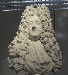 Charles d'Albert d'Ailly, 3e. Duc de Chaulnes & Pair de France (1625 - 1698) / Buste d'après Coysevox.