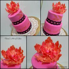 Vanilla Sugar Cookies - Veena's Art of Cakes