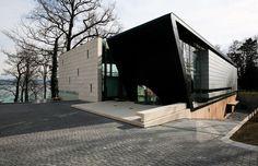 Outdoor-Oriented Dream Home/Office Implants ModernAfrican Aesthetic in Switzerland - http://freshome.com/2014/07/16/outdoor-oriented-dream-homeoffice-implants-modern-african-aesthetic-in-switzerland/