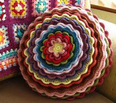Blooming Flower Cushion Crochet Pattern Free Video