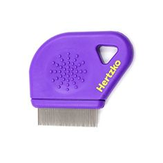 Flea Comb By Hertzko  Closely Spaced Metal Pins Removes Fleas Flea Eggs And Debris From Your Pets Coat  10mm Metal Teeth Are Great For Short Hair Areas  Suitable For Dogs And Cats -- To view further for this item, visit the image link.
