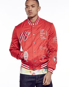 Eleven Paris Always Seems Bomber  - Men's Clothing at The Idle Man Mens Spring Jackets, Eleven Paris, A Good Man, Men's Clothing, Contemporary Style, Parisian, Mens Fashion, Clothes, Shopping
