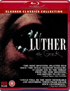 LUTHER THE GEEK BLU-RAY (SLASHER CLASSICS COLLECTION) (88 FILMS)