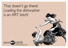 This is why since I live in my own place, I don't load the dishwasher unless I can start it immediately. People are weird.