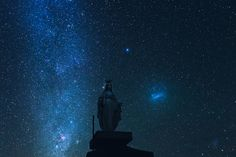 Star gazing at the summit of Mt Ramelou, Timor-Leste. Image by Brian Oh