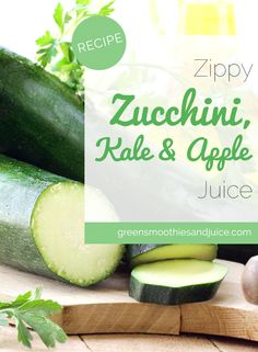 A zippy green juice to include in your healthy juicing habit!  #greenjuice