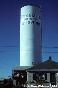 North Wildwood Water Tower,NJ Jersey Girl, New Jersey, North Wildwood Nj, Tank I, Cape May, Water Tower, Zeppelin, My Happy Place, Towers