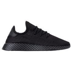 reputable site e7662 f0965 Right view of Mens adidas Originals Deerupt Runner Casual Shoes in Core  BlackFootwear White
