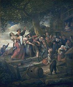 De dronken Vrouw , ca. 1670-1678