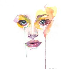 Watercolor paintings by Marion Bolognesi http://www.cuded.com/2012/05/watercolor-paintings-by-marion-bolognesi/
