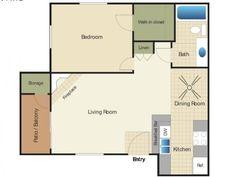 1 Bed / 1 Bath Apartment in Escondido CA | Elan River Village