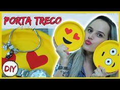 DIY: Porta Treco Emoji - Muito Fofo - YouTube