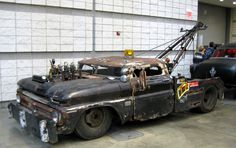 Rat Rod tow truck... full size 1950's Chevy