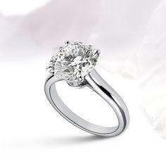 #Ring #diamond #round cut #jewellery