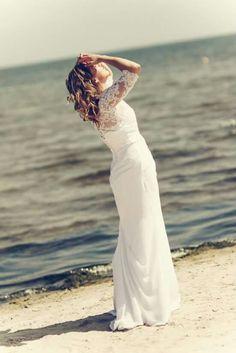 Bride on the beach!