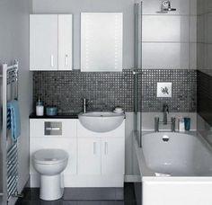 Simple Bathroom Design Ideas With A Small Tubs Small Bathroom Floor Plans, Small Bathroom Ideas On A Budget, Small Bathroom Layout, Simple Bathroom Designs, Small Bathroom Storage, Modern Bathroom Design, Bathroom Interior, Budget Bathroom, Master Bathroom
