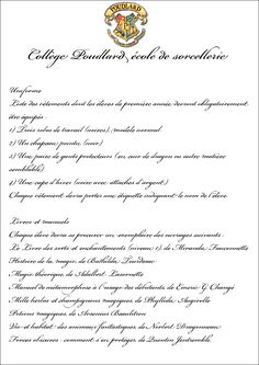 Official letters All letters have - Let& recreate our Harry Potter universe - Official letters All letters have - Let& recreate our Harry Potter universe Potion Harry Potter, Classe Harry Potter, Saga Harry Potter, Harry Potter Severus, Harry Potter Classroom, Harry Potter Cosplay, Harry Potter Birthday, Harry Potter Universal, Harry Potter Francais