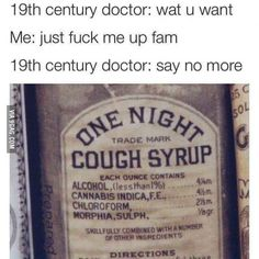 I've got a serious cold Doc...