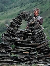 stone sculpture by Andy Goldsworthy