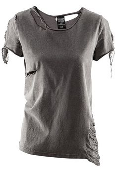 Ripped T from the Girl With the Dragon Tattoo for H collection... for those casual rock n' roll days