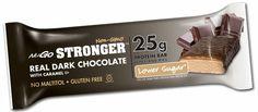 NuGO STRONGER High #Protein Bar: Real Dark Chocolate with Caramel! Lower Sugar, #NonGMO, #glutenfree and #Kosher