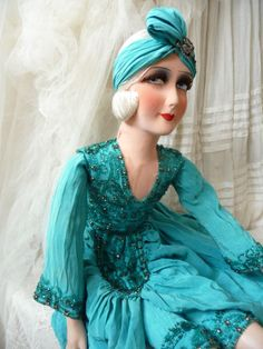 lovely boudoir doll !!!