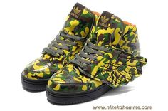 save off 9e5c3 652a4 Adidas X Jeremy Scott Wings Camo Chaussures en ligne Adidas Jeremy Scott  Wings, Lebron 11