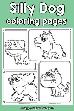 Crafts Fir Kids, Craft Projects For Kids, Toddler Crafts, Diy For Kids, Dog Coloring Page, Animal Coloring Pages, Colouring Pages, Cross Stitch Horse, Puppets For Kids