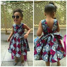 kids in print See Her Unique Ankara Style - Reny styles Source by dress for kids Ankara Styles For Kids, Unique Ankara Styles, African Dresses For Kids, African Babies, African Children, African Print Dresses, African Print Fashion, Africa Fashion, African Fashion Dresses