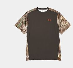 Men's Wylie Short Sleeve Camo T-Shirt,,I Like the Black and camo Combo...