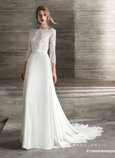 Wedding Dresses Vintage A Line .Wedding Dresses Vintage A Line Wedding Dresses Lds, Bridal Dresses, Long Sleeve Wedding, Wedding Dress Sleeves, Dress Lace, Moonlight Couture, Sophisticated Bride, Marie, Chiffon