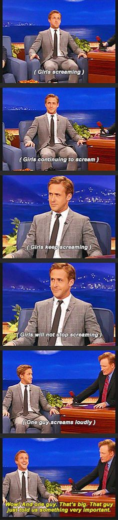 Because Ryan Gosling. LOL