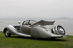 Хорьх 853 спортивный кабриолет 1937 года / Horch 853 Voll & Ruhrbeck Sport Cabriolet 1937