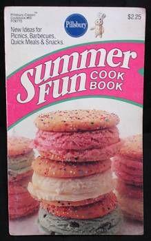 Pillsbury Summer Fun Cook Book,  at www.FindersOfKeepersBooks.com  9087